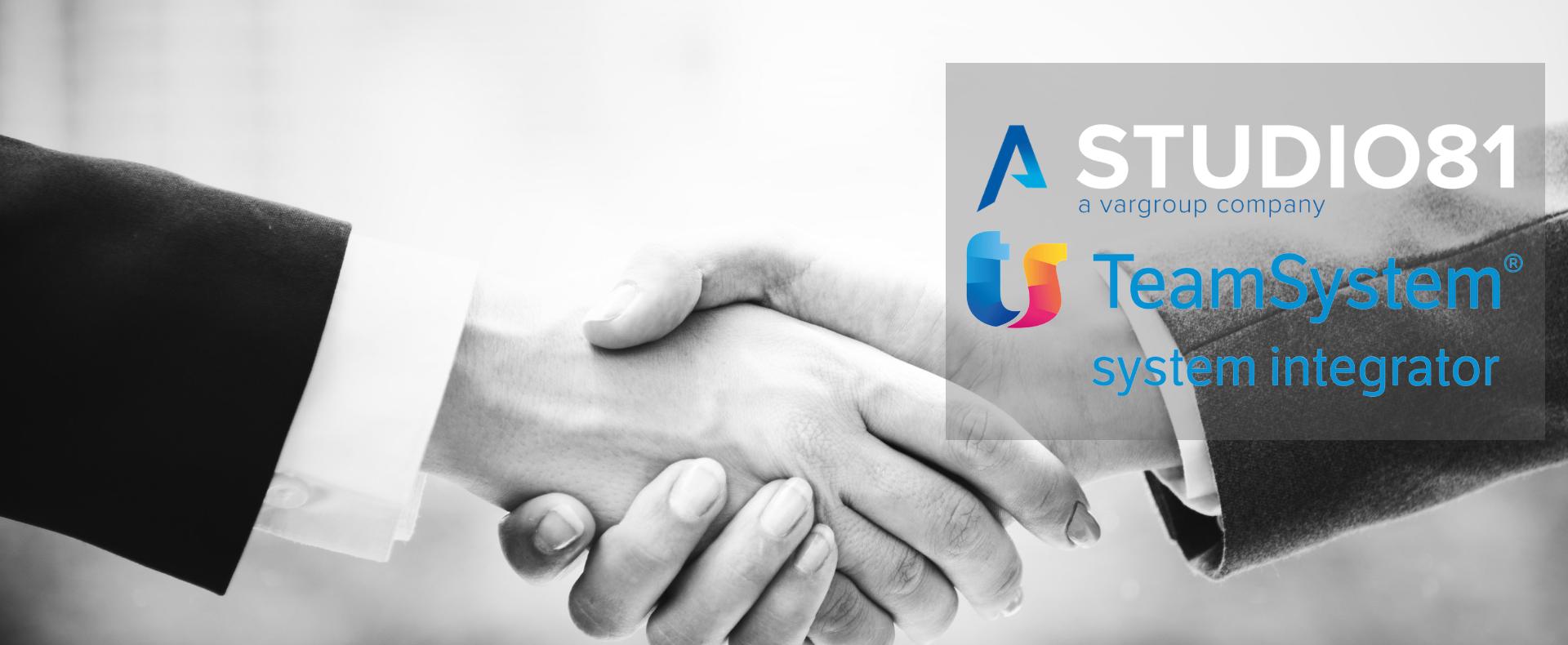 Alleanza strategica  Nasce una nuova Partnership con  TeamSystem